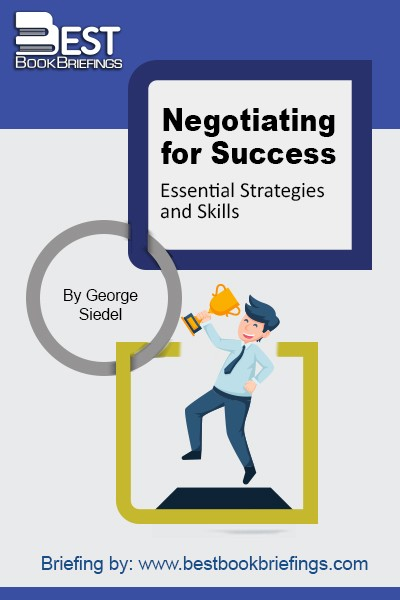 We all negotiate on a daily basis. We negotiate with our spouses, children, parents and friends. We negotiate when we rent an apartment, buy a car, purchase a house and apply for a job. The ability to negotiate might be the most important factor in your career advancement. Negotiation is also