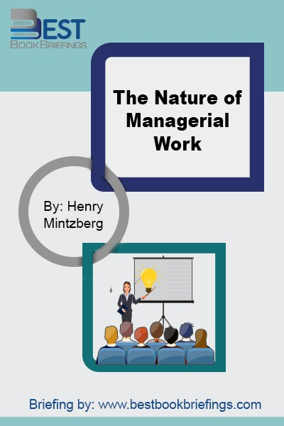 The quantity of work to be done, or that the manager chooses to do, during the day is substantial and the pace is unrelenting. Why do managers adopt this pace and workload? One major reason is the inherently open-ended nature of the job. The manager must always keep going, never sure