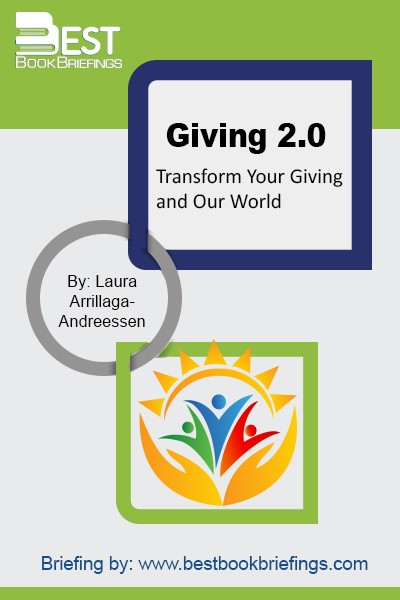 Giving 2.0 is the ultimate resource for anyone navigating the seemingly infinite ways one can give. The future of philanthropy is far more than just writing a check, and Giving 2.0 shows how individuals of every age and income level can harness the power of technology, collaboration, innovation, advocacy, and social