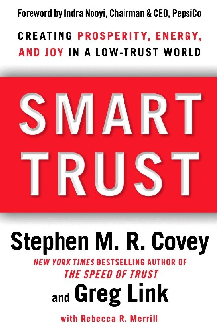 Smart Trust has met the strict scrutiny of business leaders around the globe and is validated by research from multiple sources that confirms that high-trust organizations outperform low-trust organizations by nearly three times. Smart Trust shares findings that verify how enduring success, vitality, and happiness are directly related to the level of trust in
