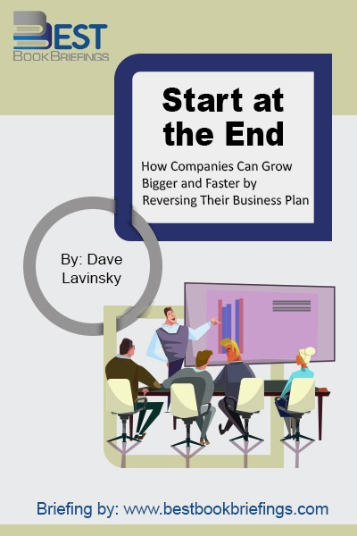 Business owners, and their teams, often lose their way in the midst of the day-to-day stress of generating sales and profits. Suddenly, everyone becomes so focused on short-term goals that the entire organization loses sight of the long-term vision.  The solution is to start at the end. When you know where