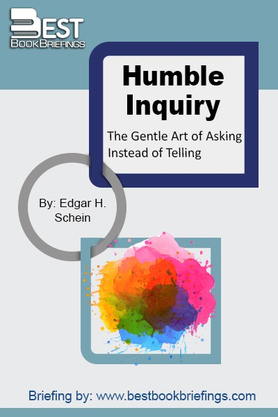 "Ed Schein defines Humble Inquiry as ""the fine art of drawing someone out, of asking questions to which you do not know the answer, of building a relationship based on curiosity and interest in the other person."" In this seminal work, Schein contrasts Humble Inquiry with other kinds of inquiry, shows"