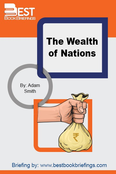 The book's full name is 'An Inquiry into the Nature and Causes of the Wealth of Nations,' written by Adam Smith. This book is truly a masterpiece that gives great insights into the world of economics and management. The entire book is made of six books, discussing economics and explaining how