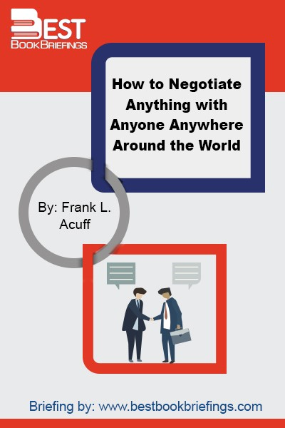 This book is for the person in the trenches, who needs practical guidelines to get the very best deal possible with people and organizations that have very different backgrounds and experiences. This book is for the practitioner—for the person who faces an international negotiating challenge and who perhaps should have done