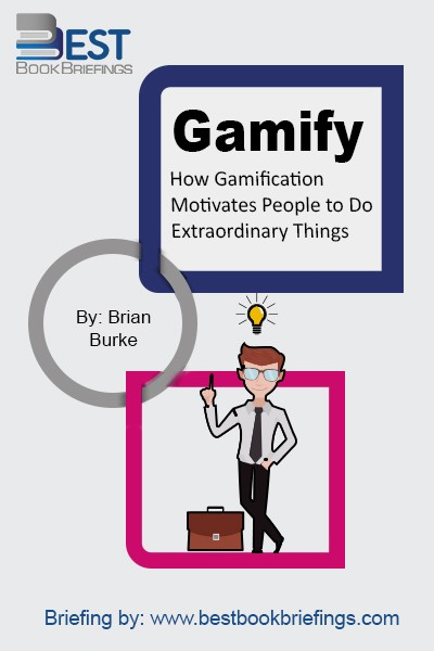 Gamify shows gamification in action: as a powerful approach to engaging and motivating people to achieving their goals, while at the same time achieving organizational objectives. It can be used to motivate people to change behaviors, develop skills, and drive innovation. The sweet spot for gamification objectives is the space where the