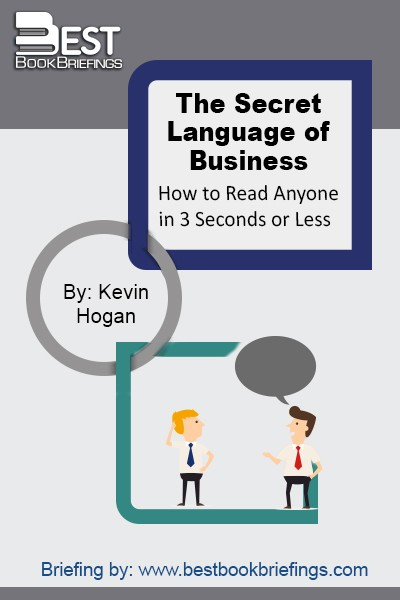 The Secret Language of Business reveals the secrets of body language and nonverbal communication. Successful professionals need more than just good communication skills, you also need the ability to interpret the nonverbal signals that everyone displays. You'll learn how to master and manipulate your own body language, read the body language of