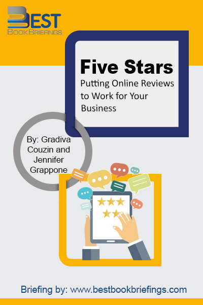 You live in a time when online reviews are prominent and powerful. If you're like many business stakeholders, you might be confused or overwhelmed by online reviews. In this book, showed valuable how-to instructions, advice from experts, insider tips from review venue representatives, and insights into consumer behavior that you can