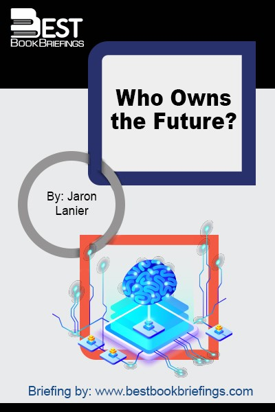 Jaron Lanier is the father of virtual reality and one of the world's most brilliant thinkers. Who Owns the Future? is his visionary reckoning with the most urgent economic and social trend of our age: the poisonous concentration of money and power in our digital networks.