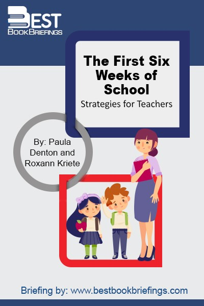 Learn how to structure the first six weeks of school to lay the groundwork for a productive year of learning. Discover how taking the time to build a solid foundation in the early weeks of school can pay off all year long in increased student motivation, cooperation, responsibility, and self-control.