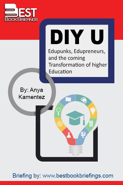 DIY U: Edupunks, Edupreneurs and the Coming Transformation of Higher Educationis about the future of higher education. It's a story about the communities of visionaries who are tackling the enormous challenges of cost, access, and quality in higher ed, using new technologies to bring us a revolution in higher learning that