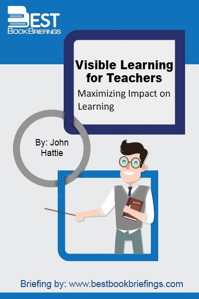 Visible Learning for Teachers takes the next step and brings those groundbreaking concepts to a completely new audience. Written for students, pre-service and in-service teachers, it explains how to apply the principles of Visible Learning to any classroom anywhere in the world. The author offers concise and user-friendly summaries of the
