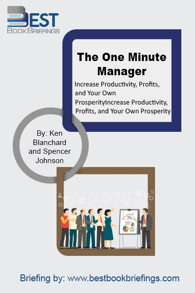 The One Minute Manager is a concise, easily read story that reveals three very practical secrets: One Minute Goal, One Minute Praisings, and One Minute Reprimands. The book also presents several studies that clearly explain why these apparently simple methods work so well with so many people. By the book's end,