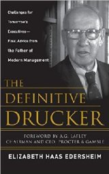 Management guru Peter Drucker widely regarded as the father of modern management.  During his remarkable life and career, he inspired countless business and political leaders.  Drucker's key business tents include:  Serve the customer:  The purpose of a business is to create and serve a customer.  Act, don't just talk:  Management takes hard work,