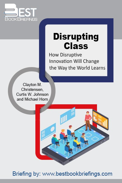 Provocatively titled, Disrupting Class is just what America's K-12 education system needs--a well thought-through proposal for using technology to better serve students and bring our schools into the 21st Century. Unlike so many education 'reforms, ' this is not small-bore stuff. For that reason alone, it's likely to be resisted by defenders