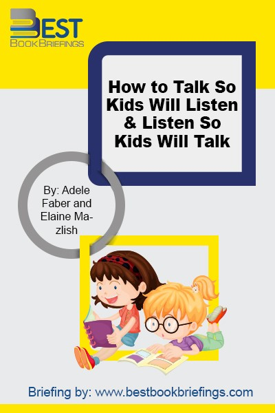 Here is the bestselling book that will give you the know-how you need to be effective with your children. Enthusiastically praised by parents and professionals around the world, the down--to--earth, respectful approach of Faber and Mazlish makes relationships with children of all ages less stressful and more rewarding.  Recently revised and
