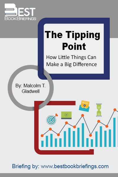 The tipping point is that magic moment when an idea, trend, or social behavior crosses a threshold, tips, and spreads like wildfire. Just as a single sick person can start an epidemic of the flu, so too can a small but precisely targeted push cause a fashion trend, the popularity of