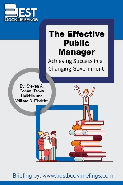 The Effective Public Manager offers public administrators and students a classic resource and a highly-accessible guide to the fundamentals of leading and managing public organizations. The authors cover the key areas of the field and present in-depth analysis through the strategic use of fresh case studies and real-world examples. The book