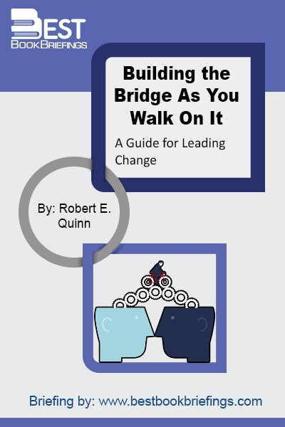 Every human being needs to undergo an intellectual journey that will span the remaining course of their life and help them develop their emotional and character integrity. The idea here is to combine personal change with organizational change. A leader can attain a positive, organizational change only after they engage in