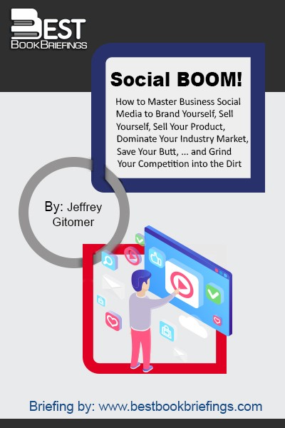 Social BOOM! addresses every aspect of social media, including the business periphery (blog, personal website, e-zine) that you need in order to create the real law of attraction. When you create a connection, it's an indicator that that prospect, or that customer, or that individual wants to continue the online relationship,